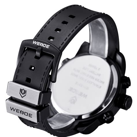 Sports 30m Water Resistance Wh3315 Jam Tangan P Murah weide jam tangan analog digital wh3315 black blue