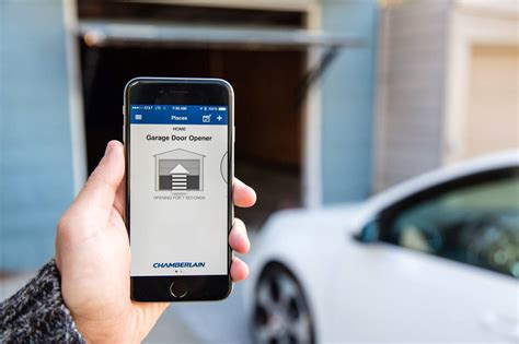Garage Door Opener With Smartphone App 5 Smart Home Gadgets That Work With Your Android Phone
