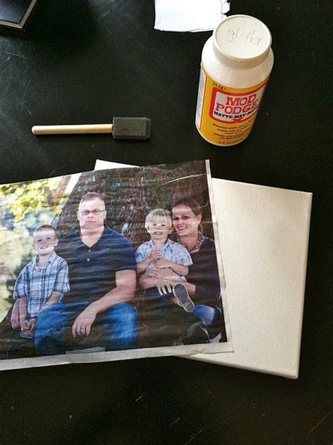 Make Your Own Transfer Paper - make your own photo canvas photo transfer to canvas diy