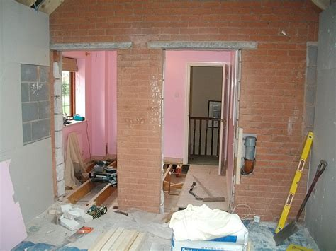 Build An Ensuite In Bedroom by Building Extension A Garage Construction Diary Before And After Photos