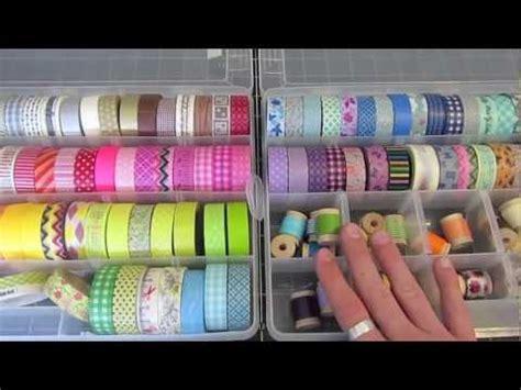 youtube organizer washi tape storage youtube