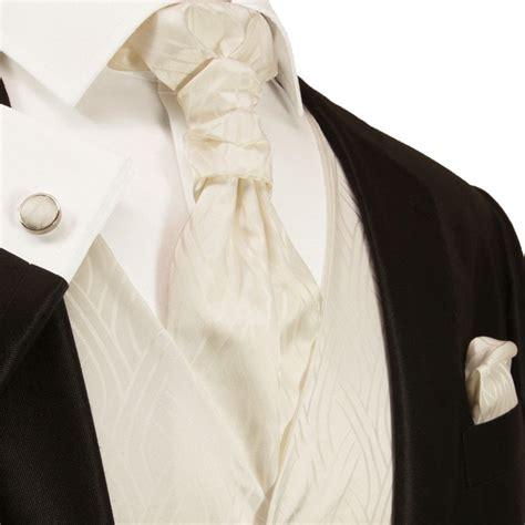 ivory tuxedo vest set vest includes necktie ascot tie