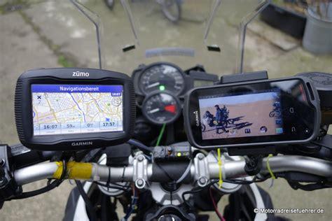 Motorrad Navi Empfehlung by Test Zum Garmin Monterra
