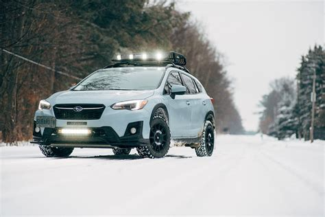 subaru crosstrek lifted blue crosstrek lift kit gallery ct subaru attention to detail