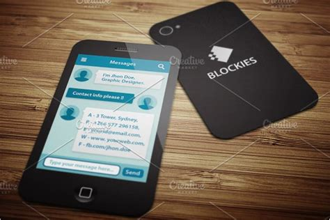 iphone business card template 20 iphone business card templates free psd designs