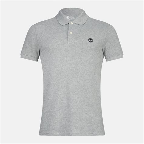 Polo Shirt Timberland shop grey timberland pique polo t shirt for mens by timberland sss