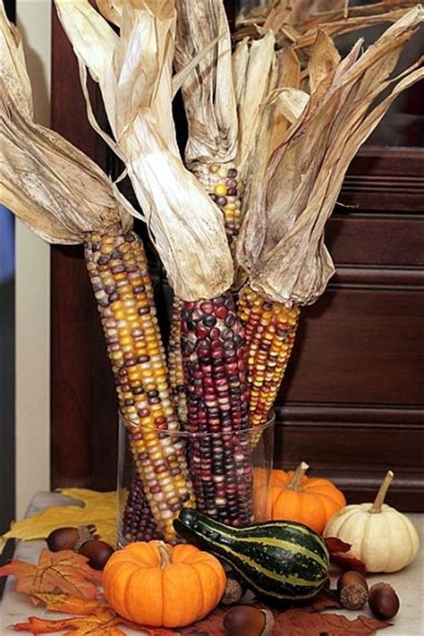 indian corn decorations for fall easy fall decor