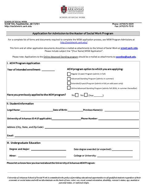 Of Arkansas Mba Application Deadline admissions of arkansas
