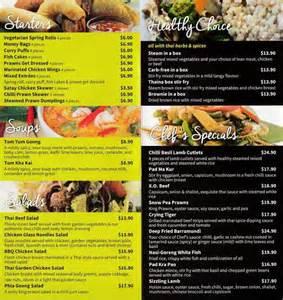thai garden menu thai garden menu menu for thai garden auburn sydney