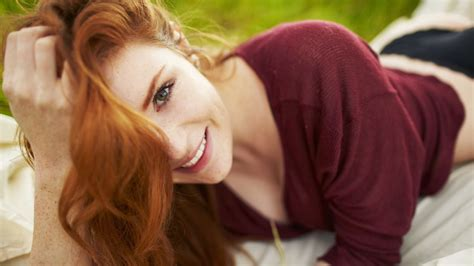 red headed woman freckles red headed woman freckles newhairstylesformen2014 com