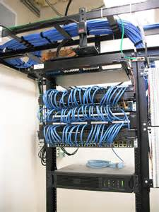 network data closet upgrades