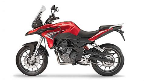 entry level benelli trk  adventure bike  debut