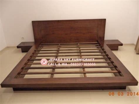 Tempat Tidur Minimalis Di Jakarta dijual tempat tidur minimalis jati jepang modern berkualitas