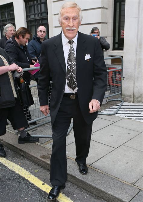 Minidress Val bruce forsyth cosies up to his minidress clad and