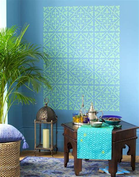 orientalische wandgestaltung die 25 besten ideen zu marokkanische muster auf