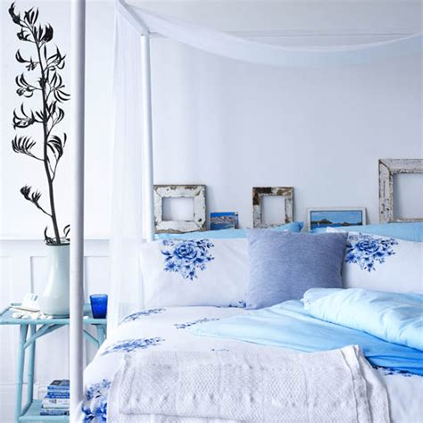 powder blue comforter shop the trend blue and white ideal home