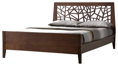 all wood bed frames tree branch inspired solid wood bed frame