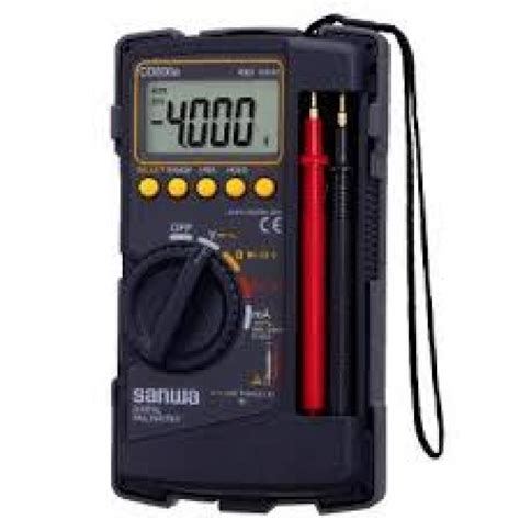 Multitester Sanwa sanwa digital multimeter tester cd800a hardware store in malaysia cthardware