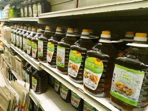 jual minyak masak gula  lesen helah pasar raya