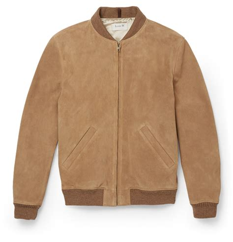 Jaketexpress Boomber Brown Jacket Boomber a p c louis w ferris suede bomber jacket in brown for