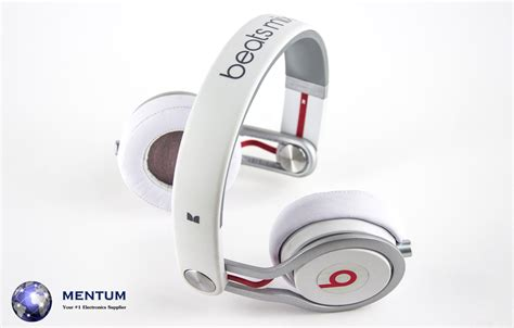 Headphone Beats Mixr Original original white beats mixr ear pad headphones by dr dre with and 2 cables ebay