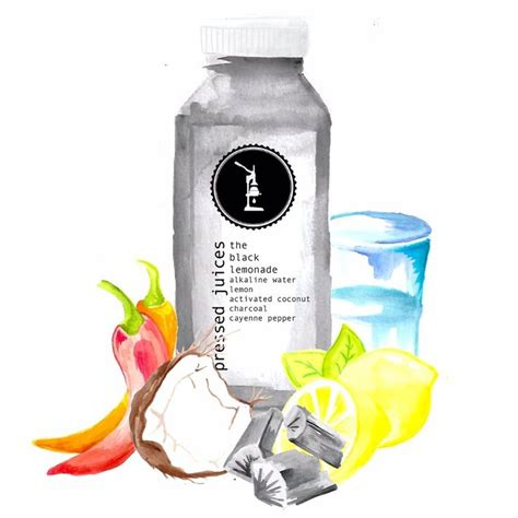 Lemon Detox Charcol by Start Your Monday With The Black Lemonade The Mix Of