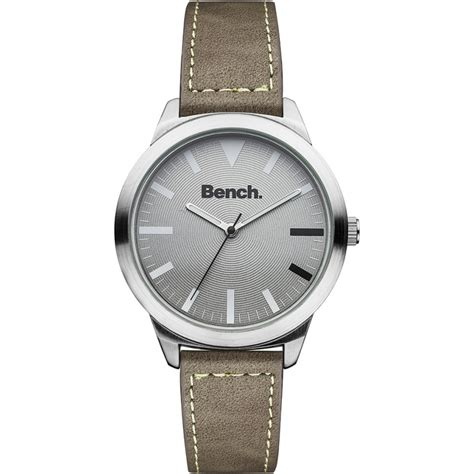 bench wrist watch bc0424slbr mens bench watch watches2u