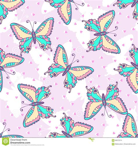 pattern paper fashion design fashion butterflies pattern vector illustration for