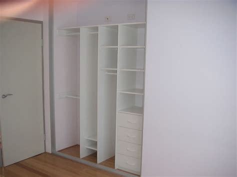 typical 2nd bedroom wardrobe layout built in wardrobes