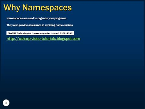 c tutorial namespace sql server net and c video tutorial part 18