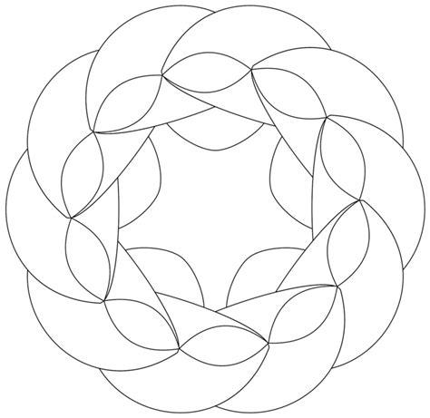 Muster Mandala Vorlagen zentangle vorlagen gratis ausdrucken zum ausmalen