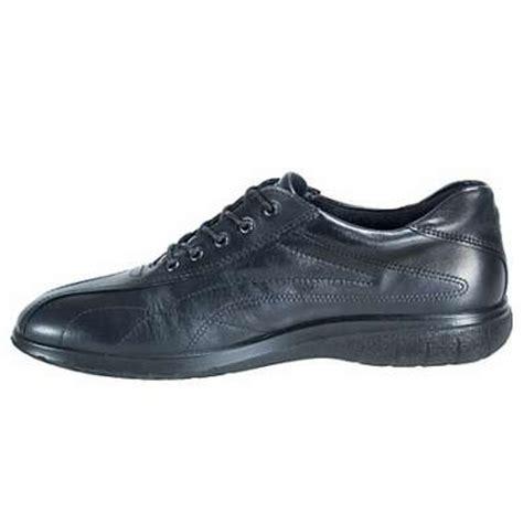 s ecco 30753 fresh tie black walking shoes