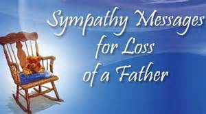 Sympathy messages for loss of a father jpg