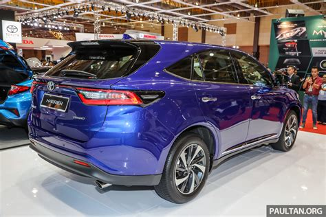 Toyota Harrier Facelift gallery 2018 toyota harrier in malaysia facelift model
