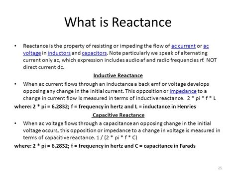 what is the inductive reactance of an inductor that drops 12 vrms and carries 50 marms ece 206l lecture notes ece 206l ppt