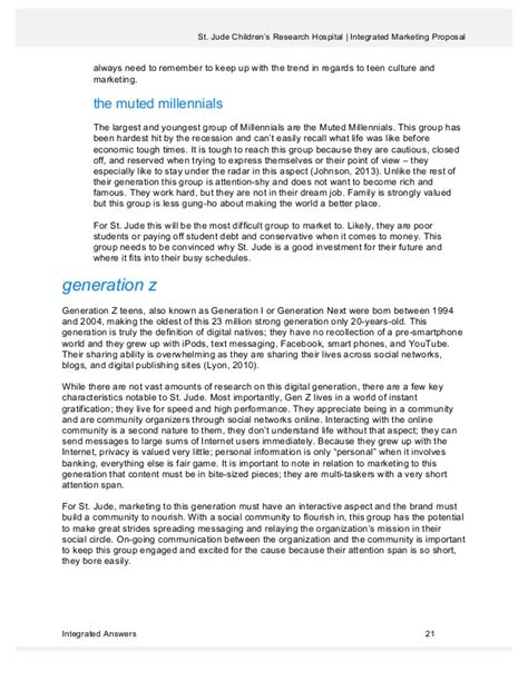 capstone template integrated marketing plan m s imc capstone project st