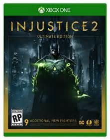 injustice 2 ultimate edition xbox one my dream wish list