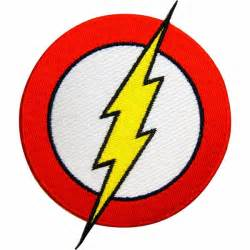 Flash Symbol Outline by Flash Border Logo Patch