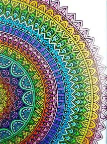 mandala meaning of colors colored mandalas beautiful coloring colored mandalas with