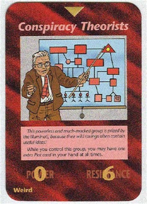 illuminati the of conspiracy cards illuminati conspiracy theorists new world order card