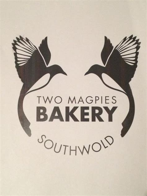 tattoo logo inspiration two magpies bakery southwold ravens and black birds and