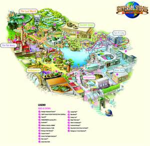 map of universal florida universal studios orlando map of park images