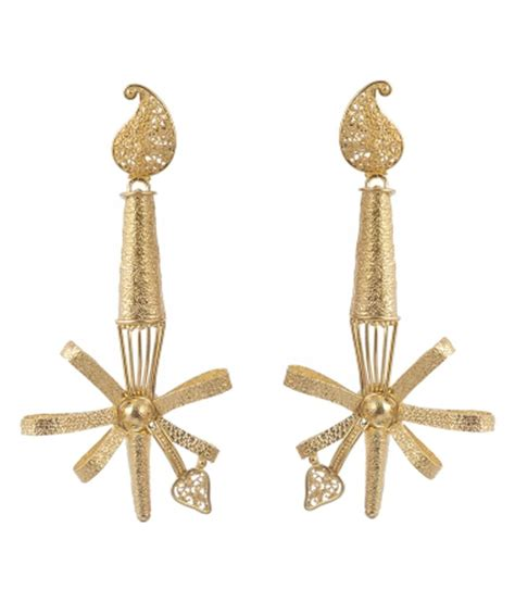 Handmade Gold Earrings - jewelegance handmade 22kt gold earrings buy jewelegance