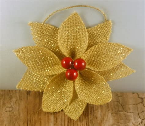 Handmade Ornaments Etsy - burlap ornaments burlap by adorableadoornments