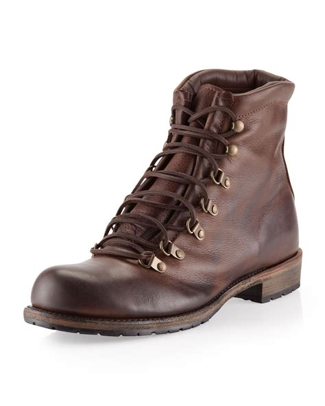 vintage shoe company boots vintage shoe company hammond laceup boot chocolate in