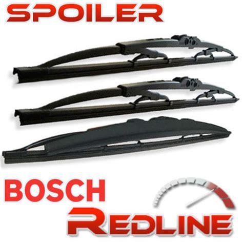 Wiper Bosch 14 Rear Belakang Best Seller vauxhall corsa b mk1 hatchback bosch front rear wiper blades spoiler window ebay