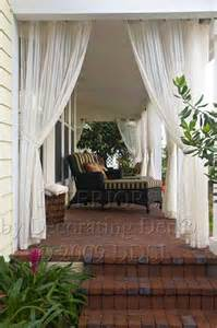 Brown Blinds Outdoor Curtains Porch Curtains Porch Enclosure