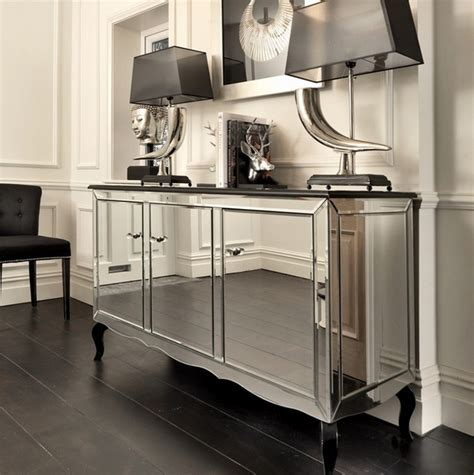 mirrored dining room buffet mirrored sideboards spectacular dining room furniture