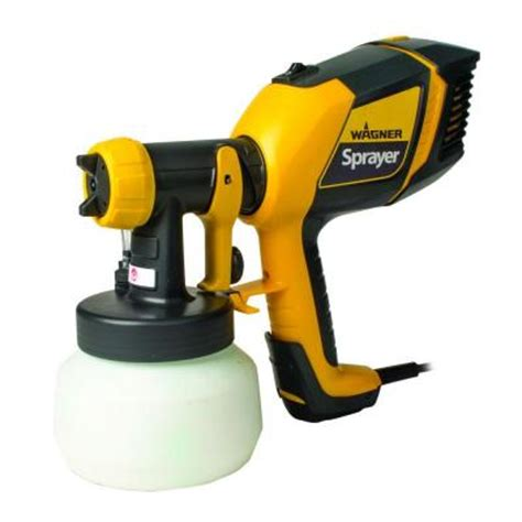 home depot paint sprayer wagner wagner stainer plus hvlp sprayer 0529046 the