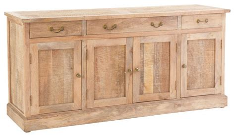 Wooden Sideboards rustic wooden buffet console traditional buffets and sideboards by wisteria